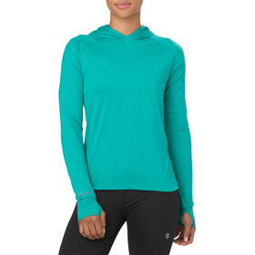 asics Thermopolis - T-shirt manches longues running Femme - turquoise